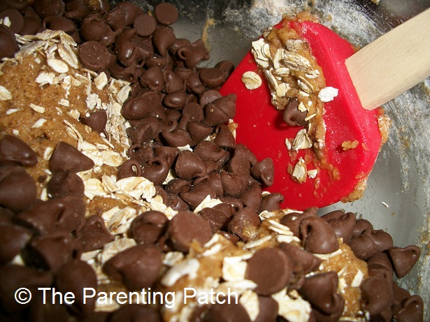 Folding in the Chocolate Chips