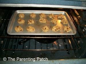 Baking the Lactation Cookies