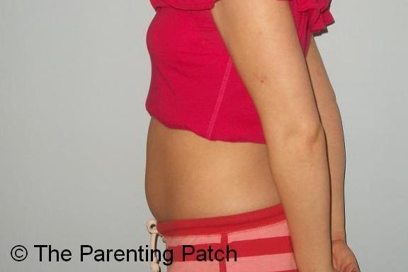 Baby Bump Week 5 of Pregnancy 1