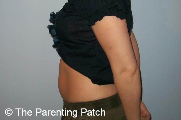 Baby Bump Week 6 of Pregnancy 1