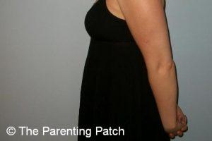 Baby Bump Week 7 of Pregnancy 1