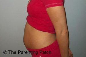 Baby Bump Week 12 of Pregnancy 1