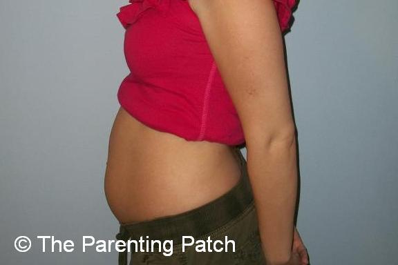 Baby Bump Week 13 of Pregnancy 1