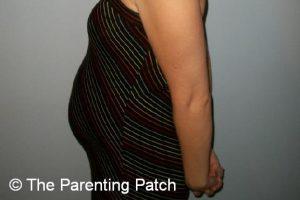 Baby Bump Week 18 of Pregnancy 1