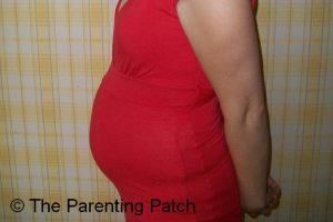 Baby Bump Week 21 of Pregnancy 1