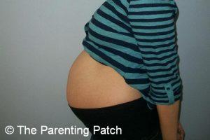 Baby Bump Week 26 of Pregnancy 1