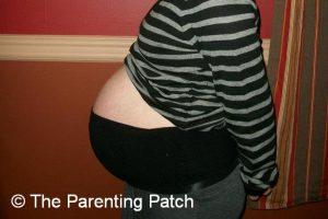 Baby Bump Week 35 of Pregnancy 1