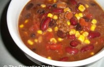 Easy Taco Chili with Extra Beans Recipe