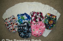 Fluff Mail: The Arrival of My Sunbaby Diapers and Bamboo Inserts