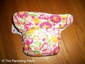 Blueberry Butterfly Pocket Diaper