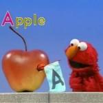 A: Apple (Elmo Sketches)