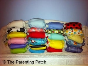 Pocket Diapers Cloth Diaper Stash