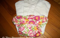 Sunbaby Bamboo Inserts Review: Another Overnight Nighttime Cloth Diaper Solution
