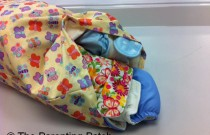 Washing My Cloth Diapers at the Laundry Mat on Vacation: September Snap Day 2
