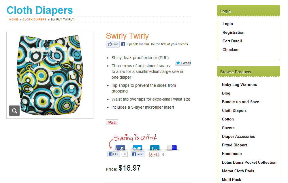 Lotus Bumz Swirly Twirly