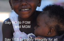 Say No to FGM and MGM: Wordless Wednesday Weekend Edition