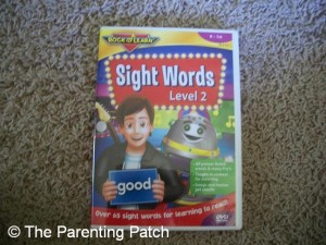 Rock 'N Learn Sight Words Level 2 DVD