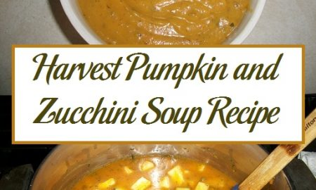 Harvest Pumpkin and Zucchini Soup Recipe