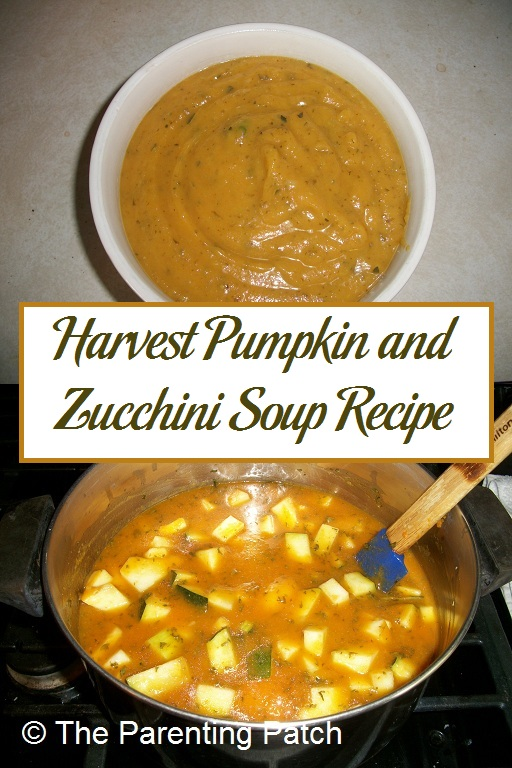 Harvest Pumpkin and Zucchini Soup Recipe