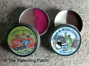 Opened Tins of Double Dipped Lip Balm