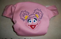 Abby Cadabby Diaper: From Poppy Cloth by The Parenting Patch