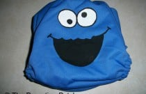 Cookie Monster Diaper: From Poppy Cloth by The Parenting Patch