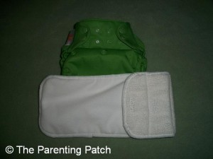Ribbit Flip Diaper Cover and Flip Stay Dry Insert