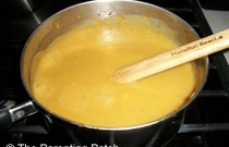 Making Sweet Potato Squash Soup: Wordless Wednesday Weekend Edition