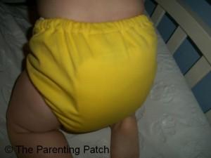 Mac N Cheese FuzziBunz Cloth Diaper 6
