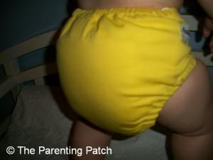 Mac N Cheese FuzziBunz Cloth Diaper 8