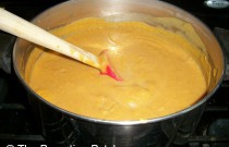 Making Harvest Sweet Potato Squash Soup: Wordless Wednesday