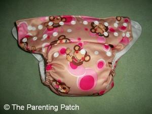 Pink Monkey Alva Baby N Series Cloth Diaper 1