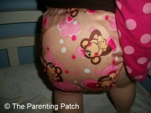 Pink Monkey Alva Baby N Series Cloth Diaper 10