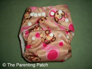 Pink Monkey Alva Baby N Series Cloth Diaper 2