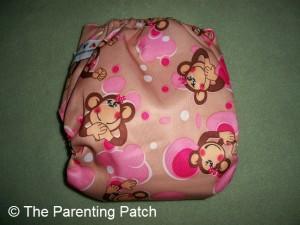 Pink Monkey Alva Baby N Series Cloth Diaper 3