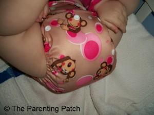 Pink Monkey Alva Baby N Series Cloth Diaper 4