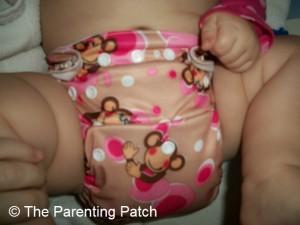 Pink Monkey Alva Baby N Series Cloth Diaper 5