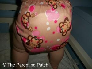 Pink Monkey Alva Baby N Series Cloth Diaper 9