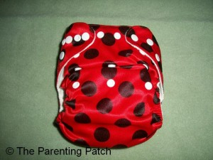 Ladybug Bamboo Alva Baby Cloth Diaper 2