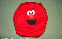 Elmo Diaper Design: From Poppy Cloth by The Parenting Patch