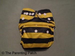 Bumblebee Bamboo Alva Baby Cloth Diaper 1