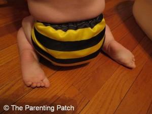 Bumblebee Bamboo Alva Baby Cloth Diaper 10
