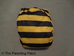 Bumblebee Bamboo Alva Baby Cloth Diaper 2