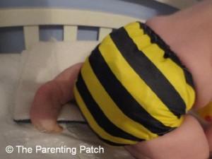 Bumblebee Bamboo Alva Baby Cloth Diaper 7