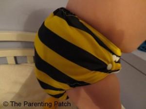 Bumblebee Bamboo Alva Baby Cloth Diaper 8