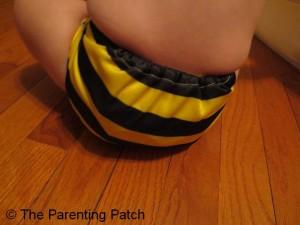Bumblebee Bamboo Alva Baby Cloth Diaper 9