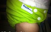 Apple Green FuzziBunz: Daily Diaper