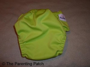 Apple Green FuzziBunz Cloth Diaper 3