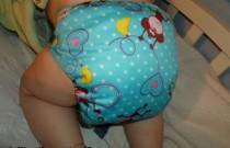 Blue Monkey Alva Baby E Series: Daily Diaper