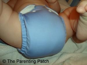 Periwinkle FuzziBunz Cloth Diaper 5